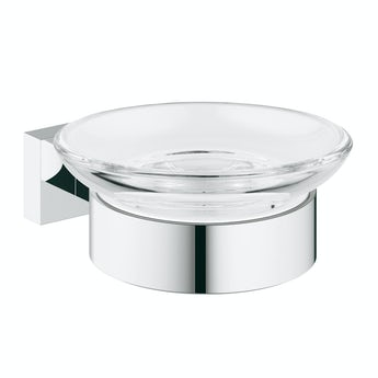 Grohe Essentials Cube soap dish and holder