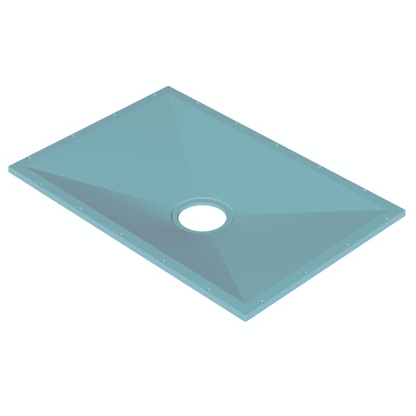 AKW Tuff Form rectangular wet room tray former