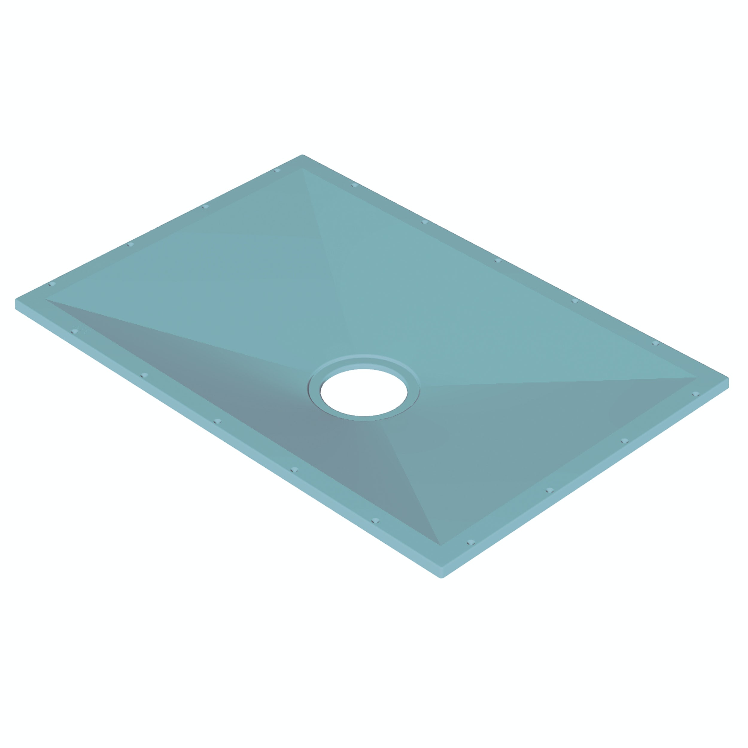 AKW Tuff Form rectangular wet room tray former - Sold by Victoria Plum