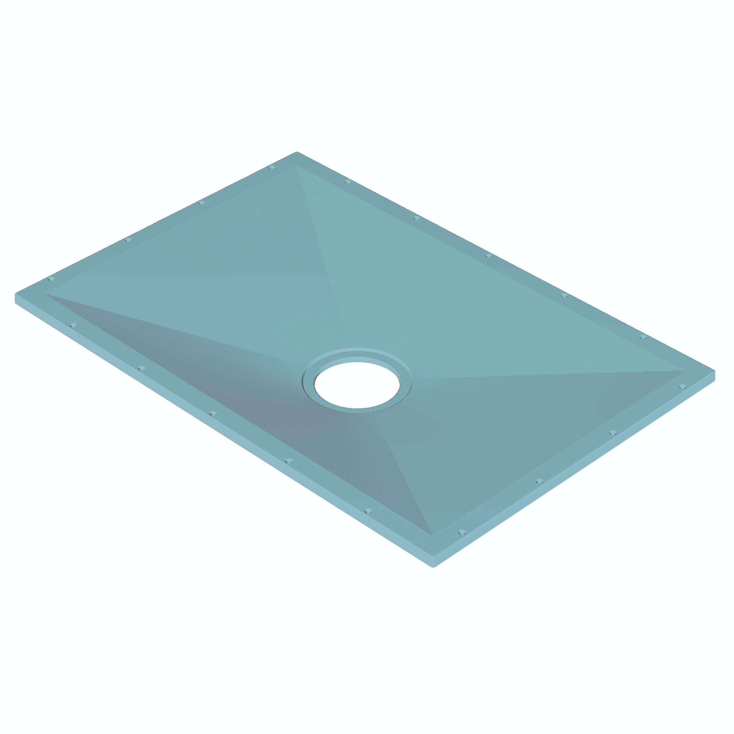 AKW Tuff Form rectangular wet room tray former