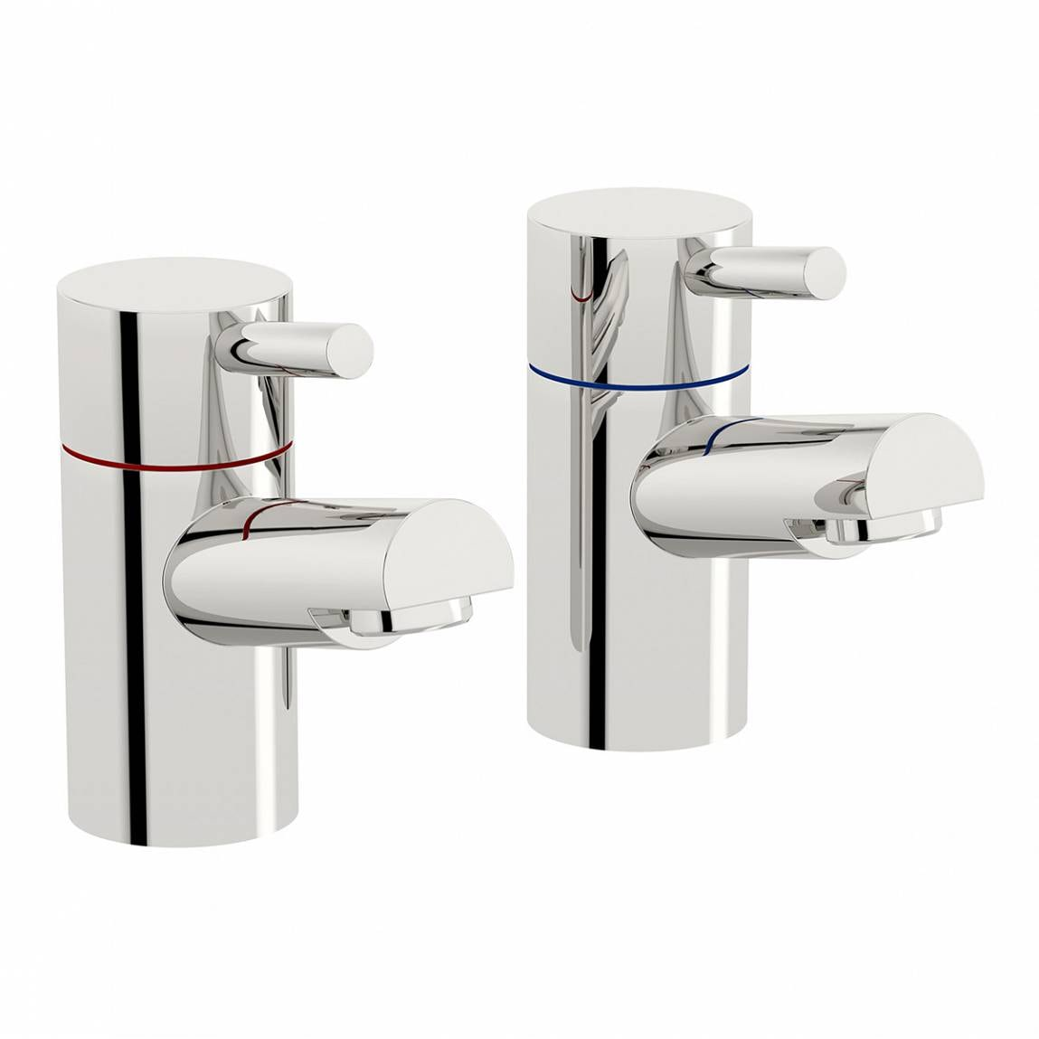 Orchard Matrix bath pillar taps
