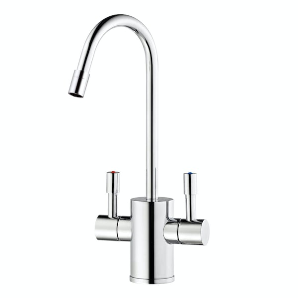 Ready Hot Two way boiling water tap with digital boiler