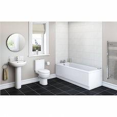 Image of Energy Bathroom Set with Kensington 1700 x 700 Bath Suite & Free Tap