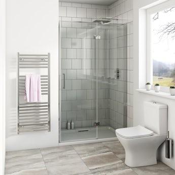 Mode Beck premium 8mm hinged easy clean shower door