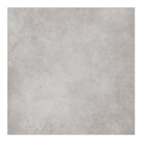 British Ceramic Tile Patchwork plain mid grey matt tile 142mm x 142mm
