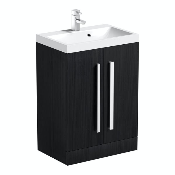 Wye essen 600 vanity unit with basin