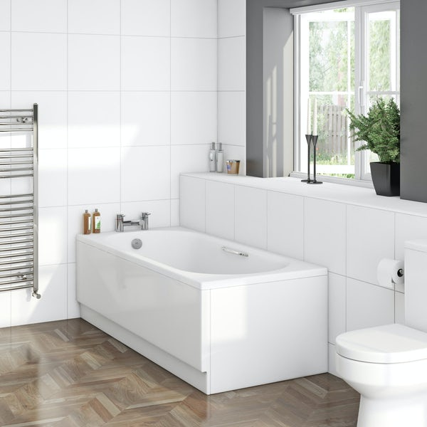 Ealing Bath 1700 x 700 with Grips