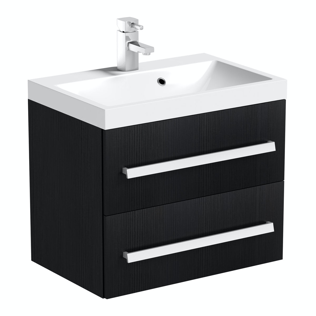 Orchard Wye essen wall hung vanity unit with basin 600mm