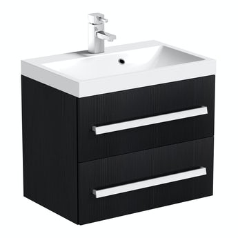 Arden essen wall hung vanity unit 600mm with basin