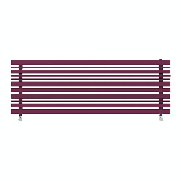 Sherwood purple violet horizontal radiator 440 x 1300