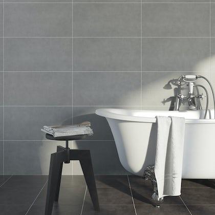 British Ceramic Tile Kaolin porcelain stone multiuse 310mm x 620mm