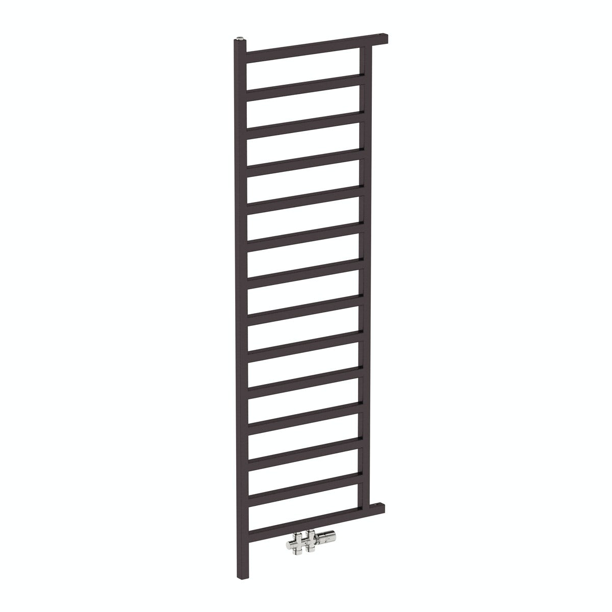 Simple meteor black heated room divider 1755 x 500