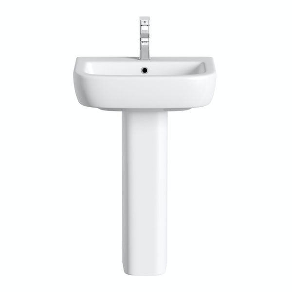 Mode Ellis full pedestal basin