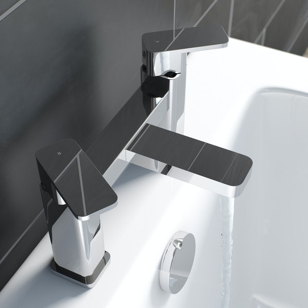 Kirke Connect bath mixer tap