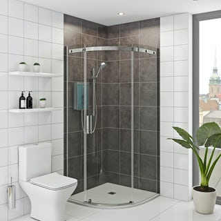 Mira and Mode shower enclosure and tray bundle 900 x 900 with Mira Azora 9.8kw electric shower