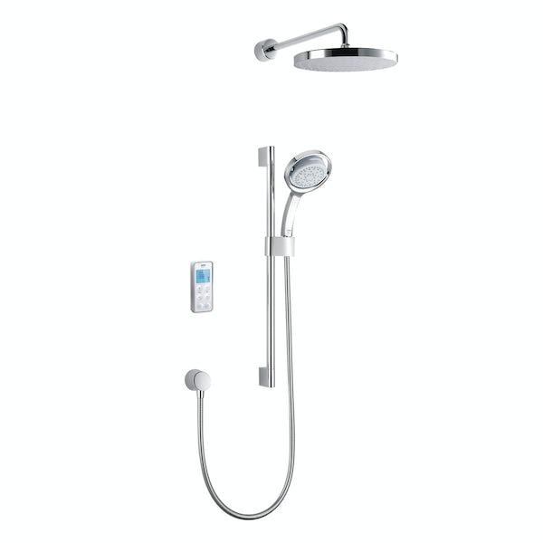 Mira Vision dual rear fed digital shower pumped