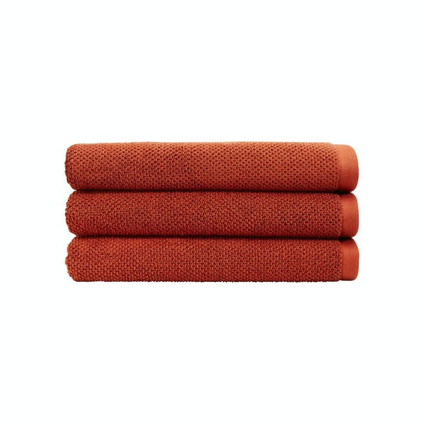 Christy Brixton cinnabar hand towel
