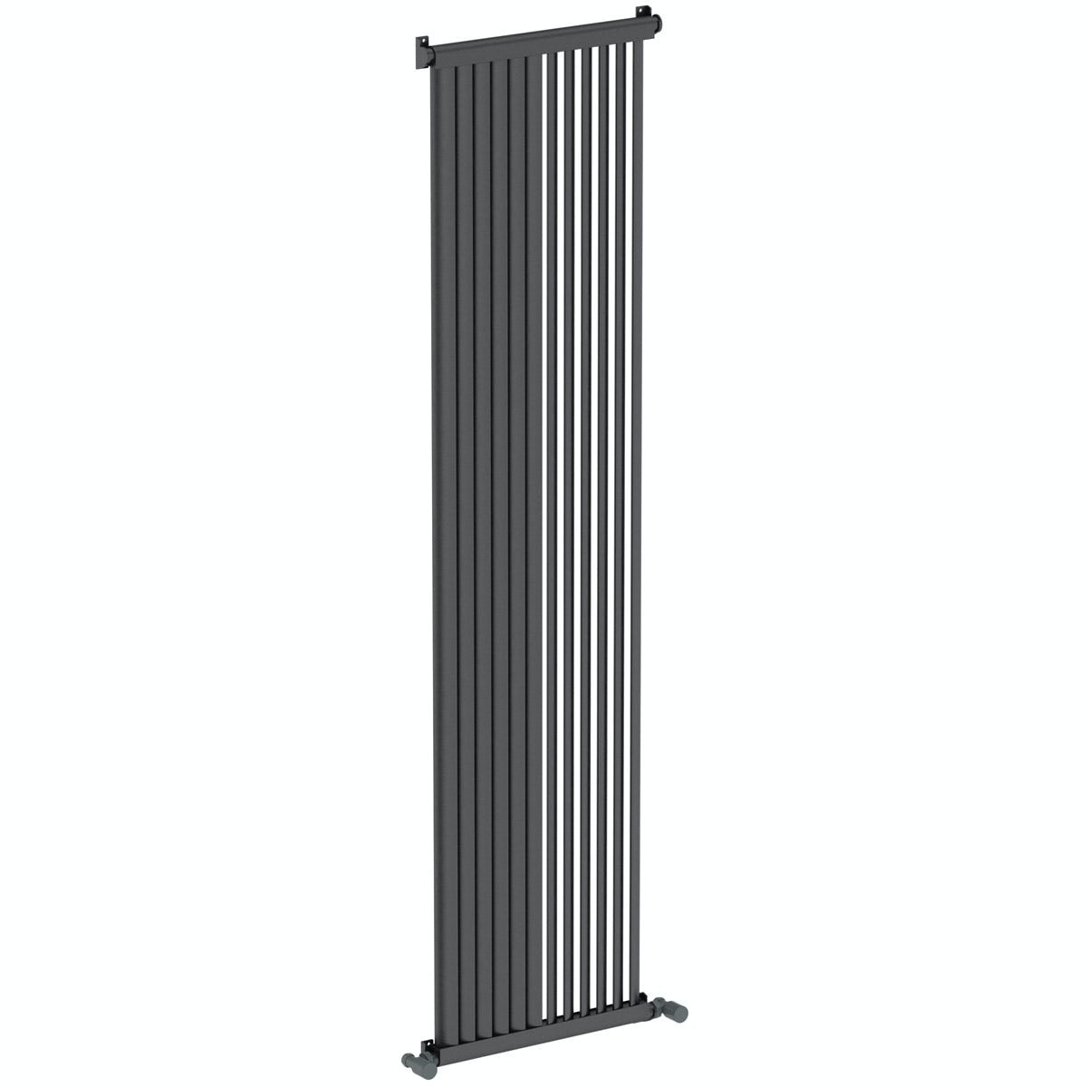 Mode Zephyra anthracite vertical radiator 1800 x 468