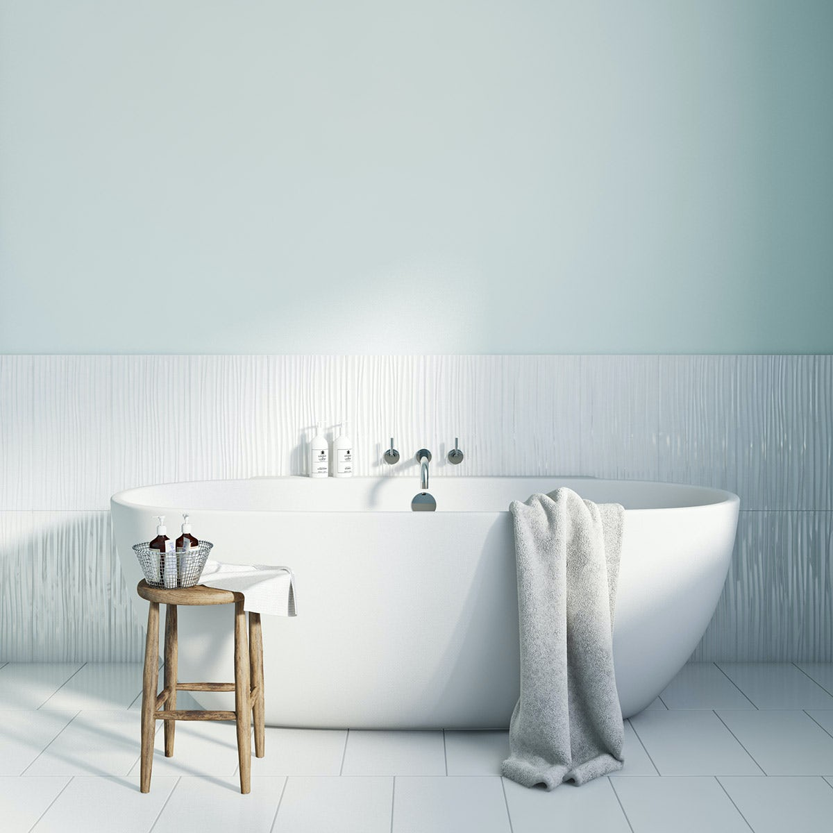 Paint for kitchens and bathrooms - Cloud Spotting Kitchen Bathroom Paint