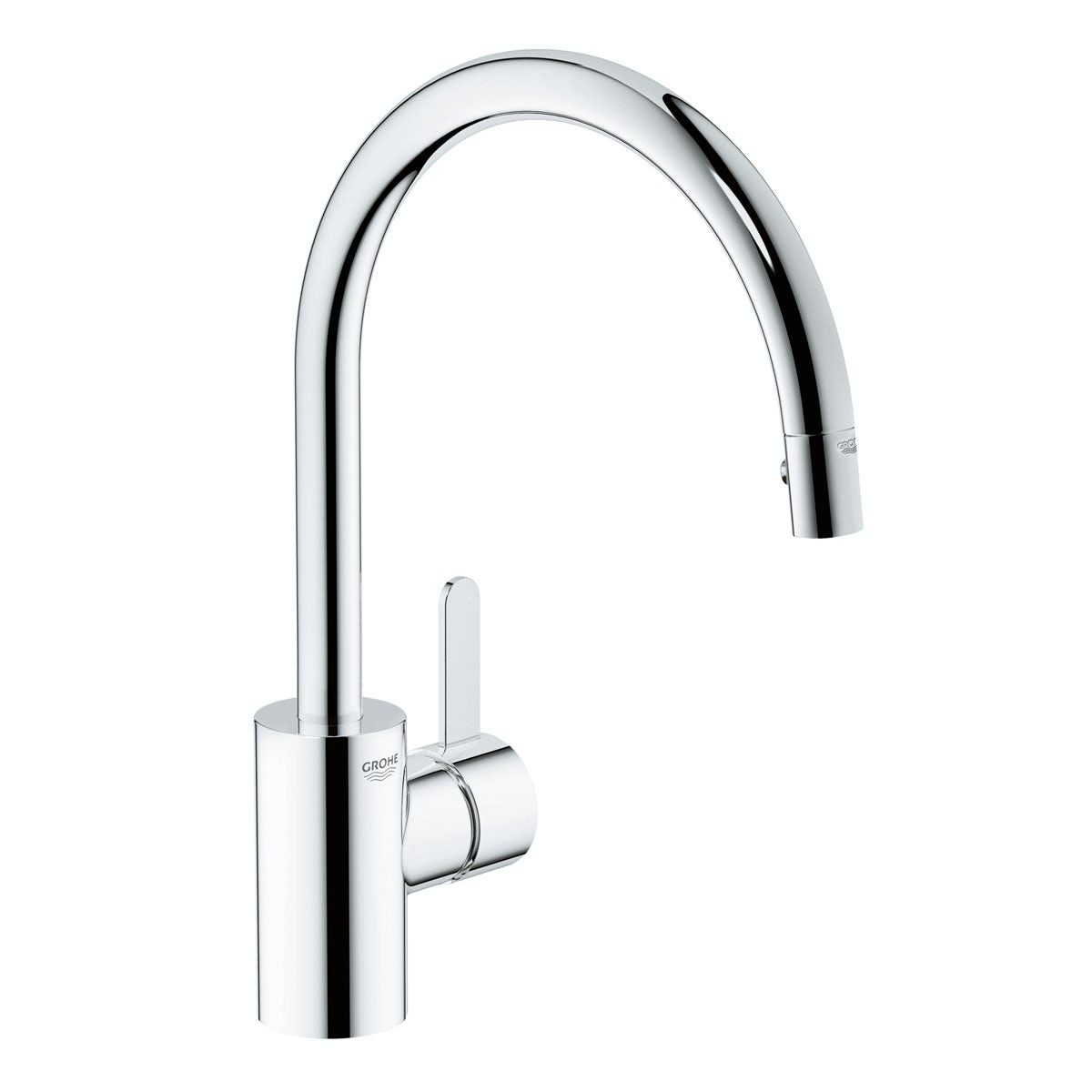 Grohe Eurosmart Cosmopolitan kitchen tap with pull out spout