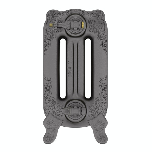 Oxford raw metal freestanding cast iron radiator 470 x 852