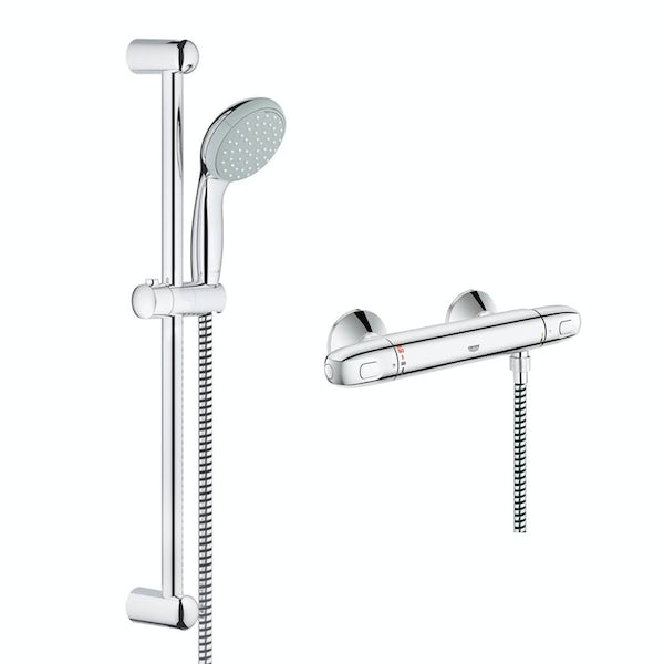 Grohe Grohtherm 1000 thermostatic shower set