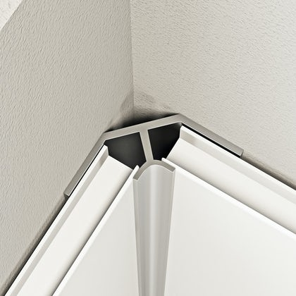 Orchard shower wall panel aluminium internal corner profile