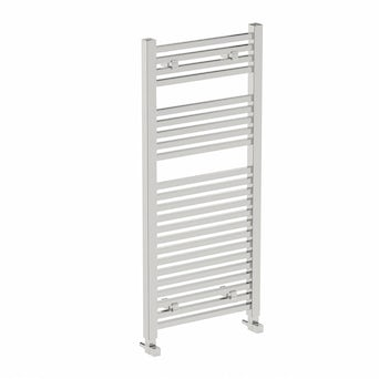 Square Heated Towel Rail 1200 x 490
