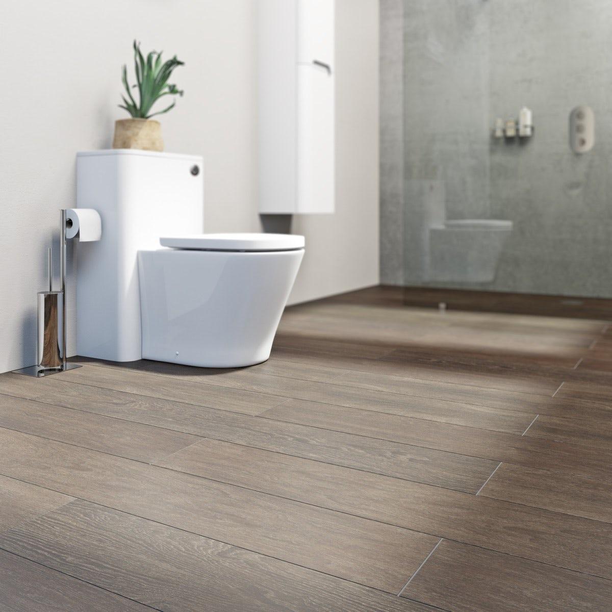 How To Lay Vinyl Flooring In Bathroom: Krono Xonic Columbus Waterproof Vinyl Flooring