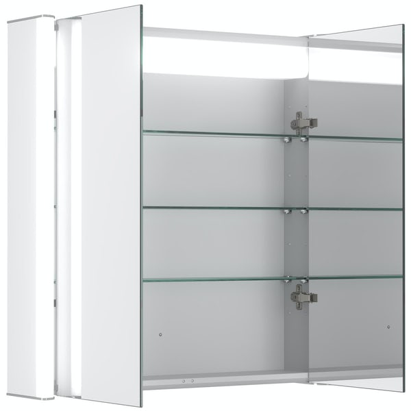Mode Kiana double diffused LED mirror cabinet