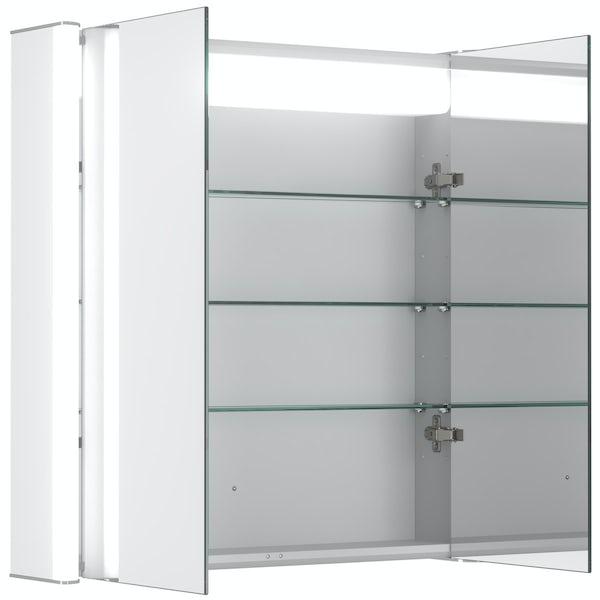 Mode Kiana double diffused LED mirror cabinet