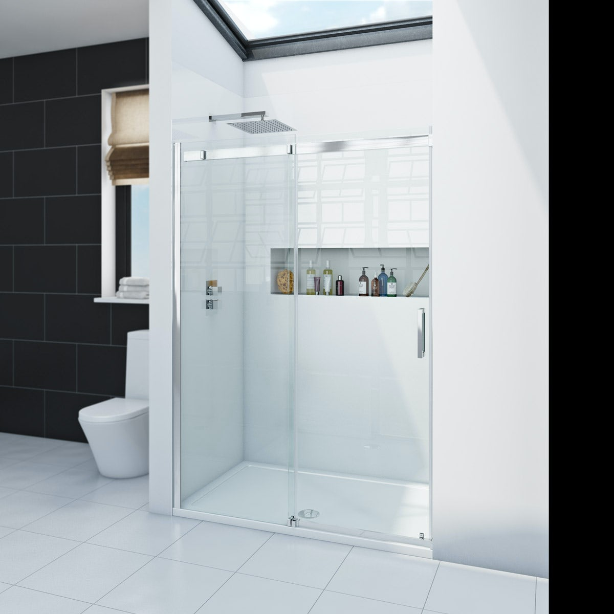 Zenolite plus ice acrylic shower wall panel 2070 x 1000