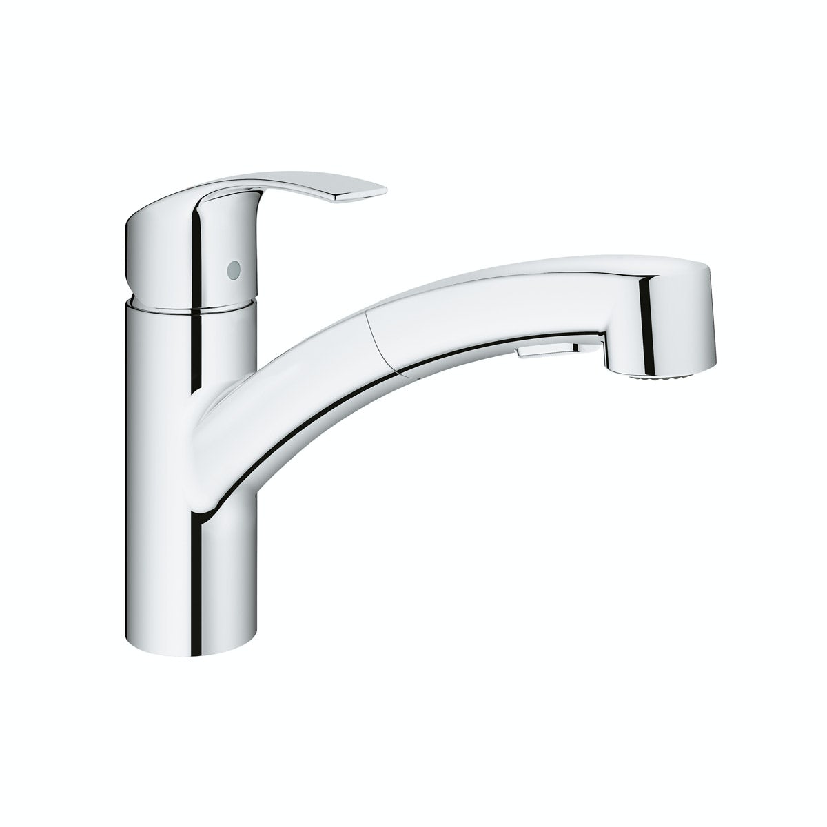 Grohe Eurosmart kitchen tap with pull out spout
