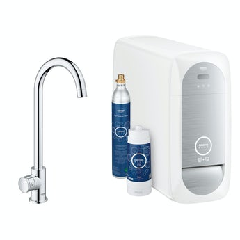 Grohe Blue Home C spout mono kitchen tap