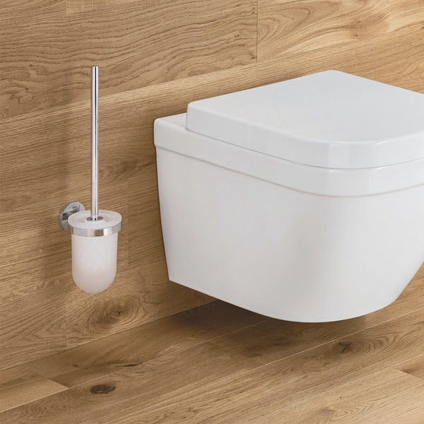Grohe Essentials toilet brush and holder