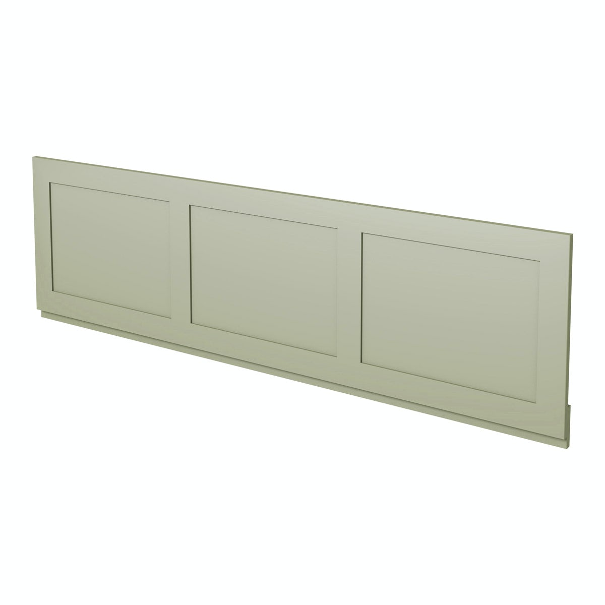 Camberley Sage wooden straight bath front panel 1700