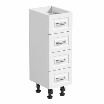 Orchard Florence white multi drawer unit 250mm