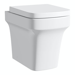 Carter back to wall toilet inc soft close seat