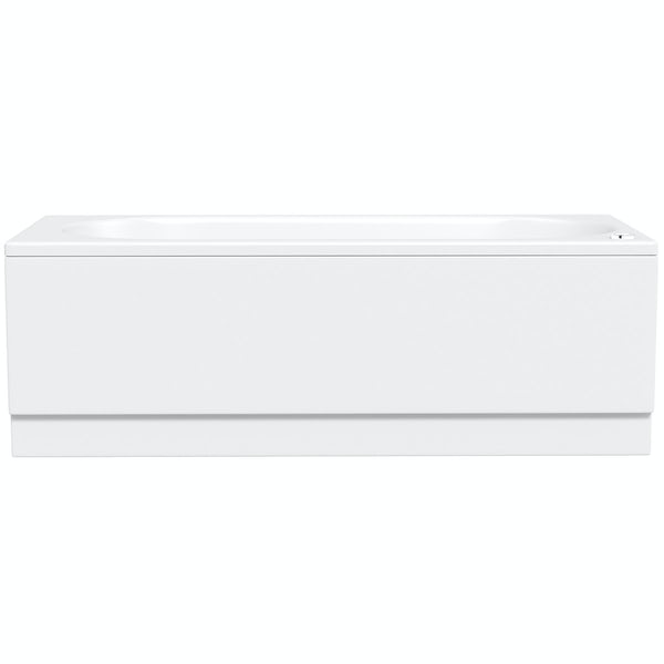 Richmond 1600 x 700 single end 6 jet whirlpool bath