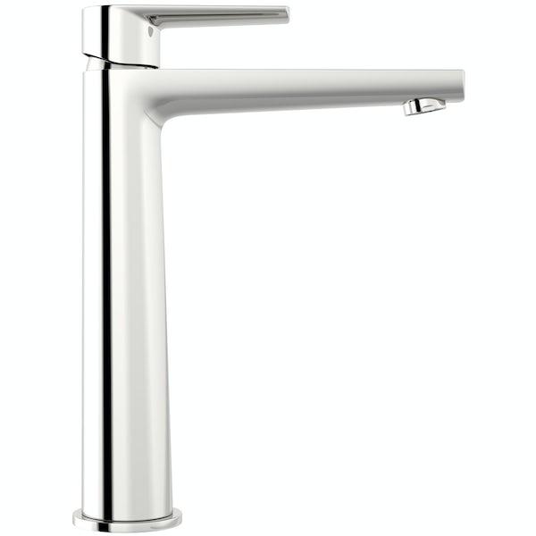 Langdale high rise counter top basin mixer tap