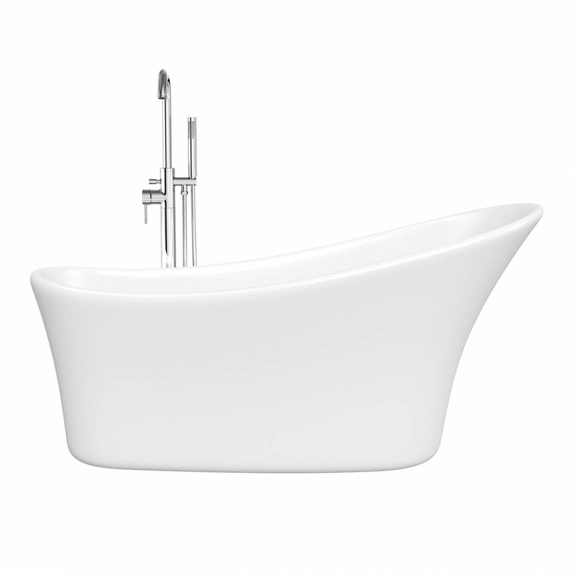Mode Harding single ended slipper bath VictoriaPlumcom