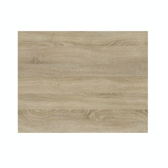 Arden oak shower bath end panel 680mm