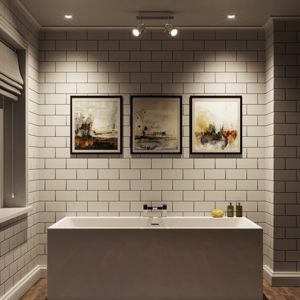 Forum Ligero 2 light bathroom ceiling light