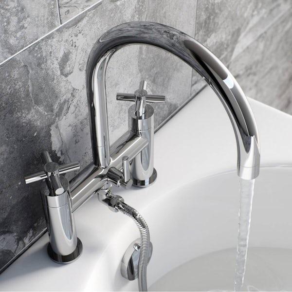 Mode Tate bath shower mixer offer pack