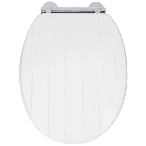 Croydex Portland flexi fix toilet seat