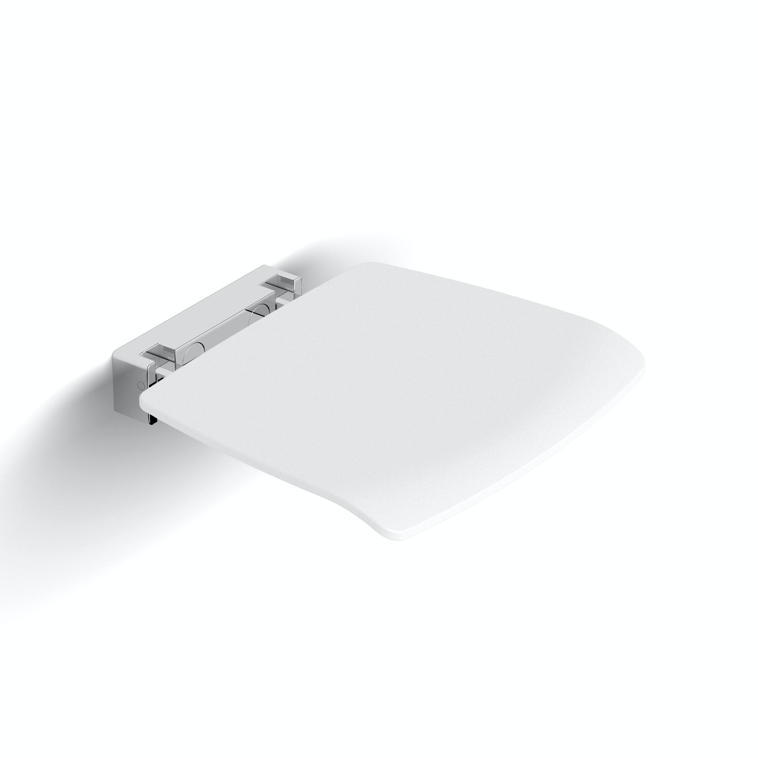 AKW Velena Devote shower seat white - Sold by Victoria Plum