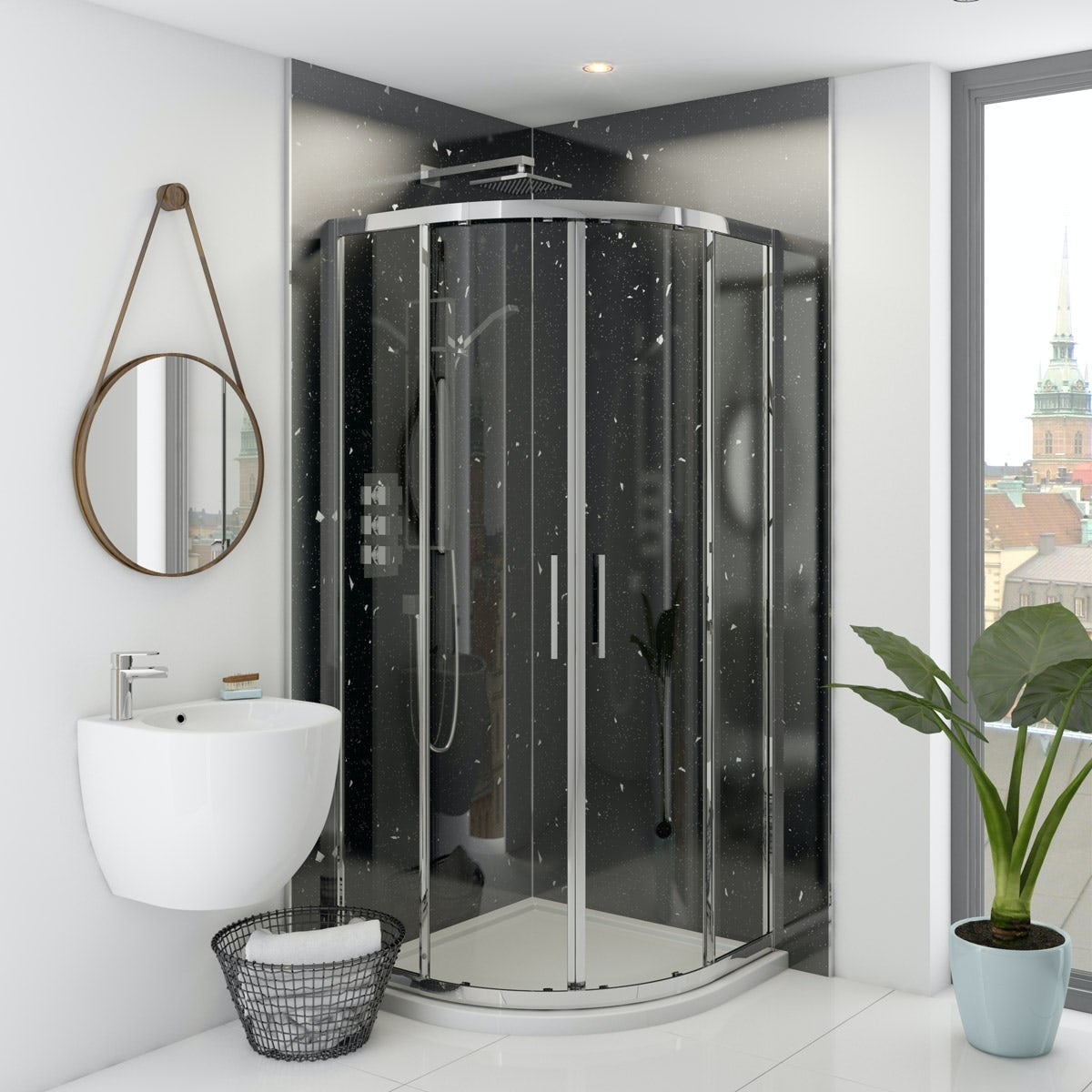 Multipanel Classic Stardust Hydrolock shower wall panel