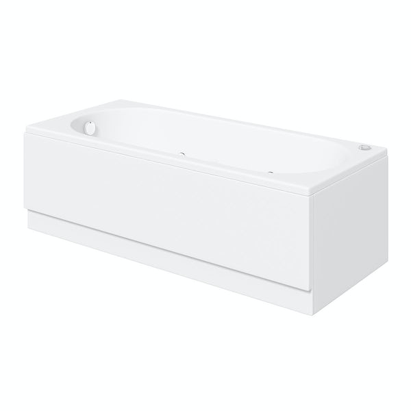 Richmond 1700 x 750 Single End 12 Jet Whirlpool Bath