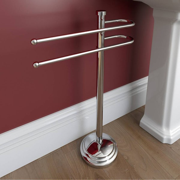 Traditional Freestanding Towel Rail