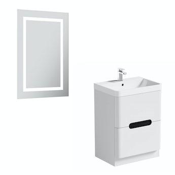 Mode Ellis select essen vanity unit 600mm and mirror offer